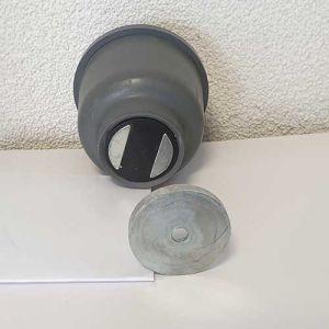 Deurvastzetter/deurbuffer Magnostop 221, voor normale deuren