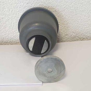 Deurvastzetter/deurbuffer Magnostop 301, voor zware deuren