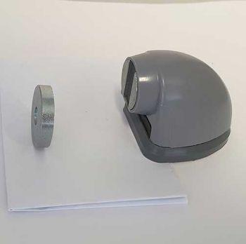 Deurvastzetter/deurbuffer Magnostop 222, voor normale deuren