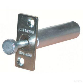 Veerbuffer, deurvastzetter voor schuifdeuren