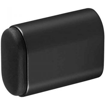 Deurbuffer voor wandmontage 50x38mm, mat zwart